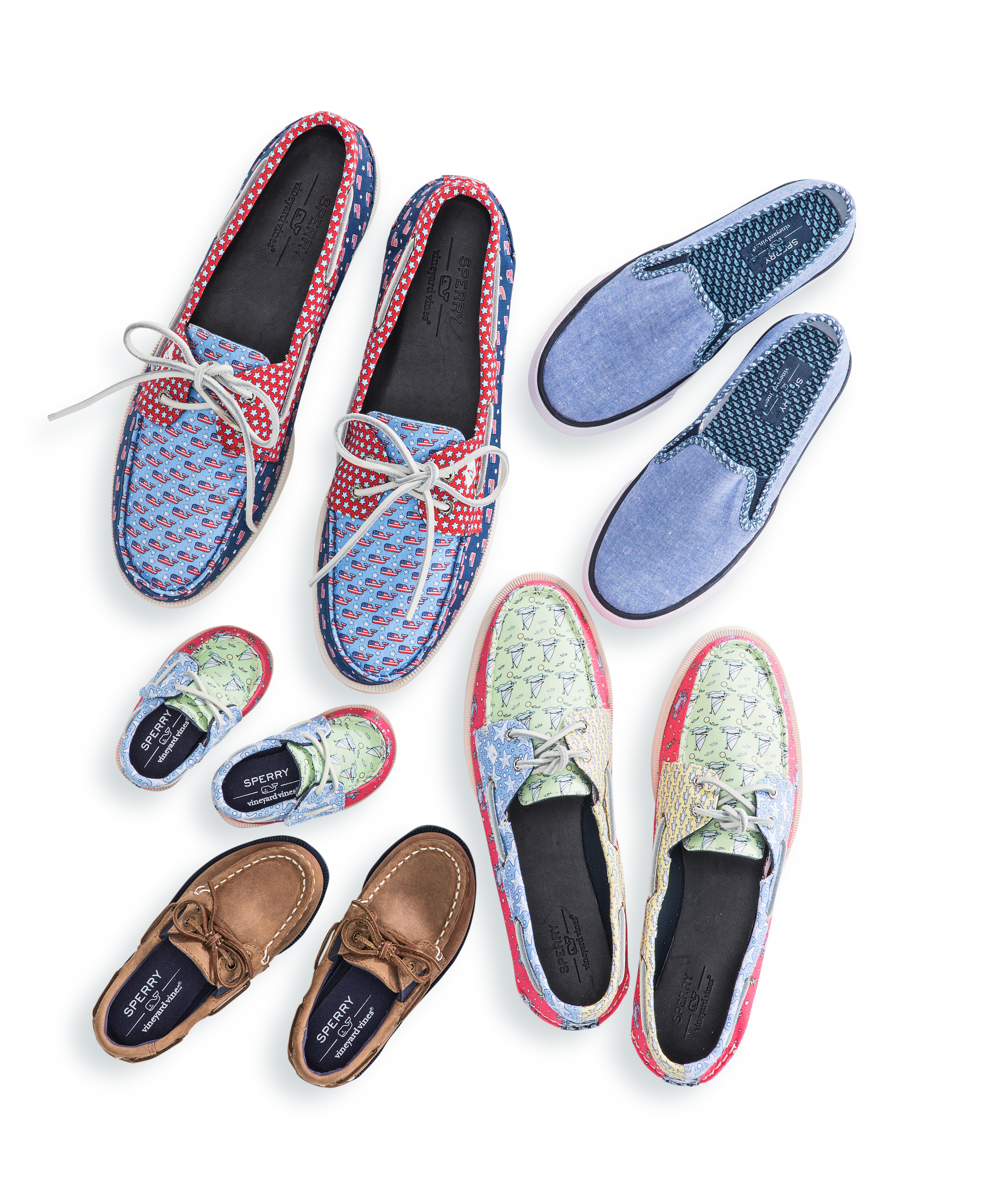 Vineyard Vines x Sperry shoe collection