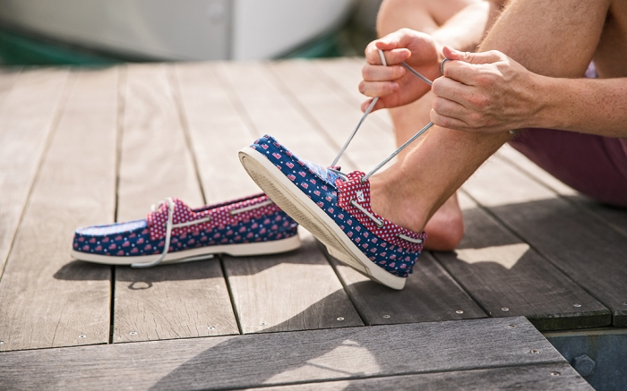 Sperry x Vineyard Vines shoe collection