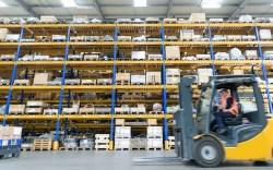 E-commerce warehouse worker