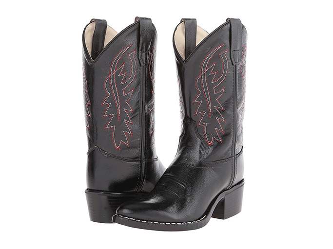 Old West Kids Boots J Toe Western Boot