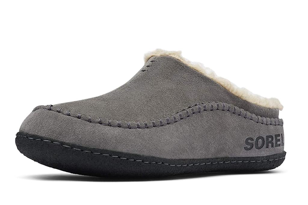 sorel slippers, best mens slippers, holiday slippers