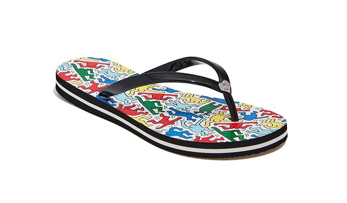 Keith Haring x AO Eva Flip Flop