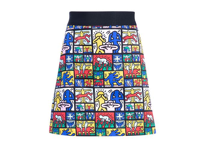 Keith Haring x AO Riley Skirt
