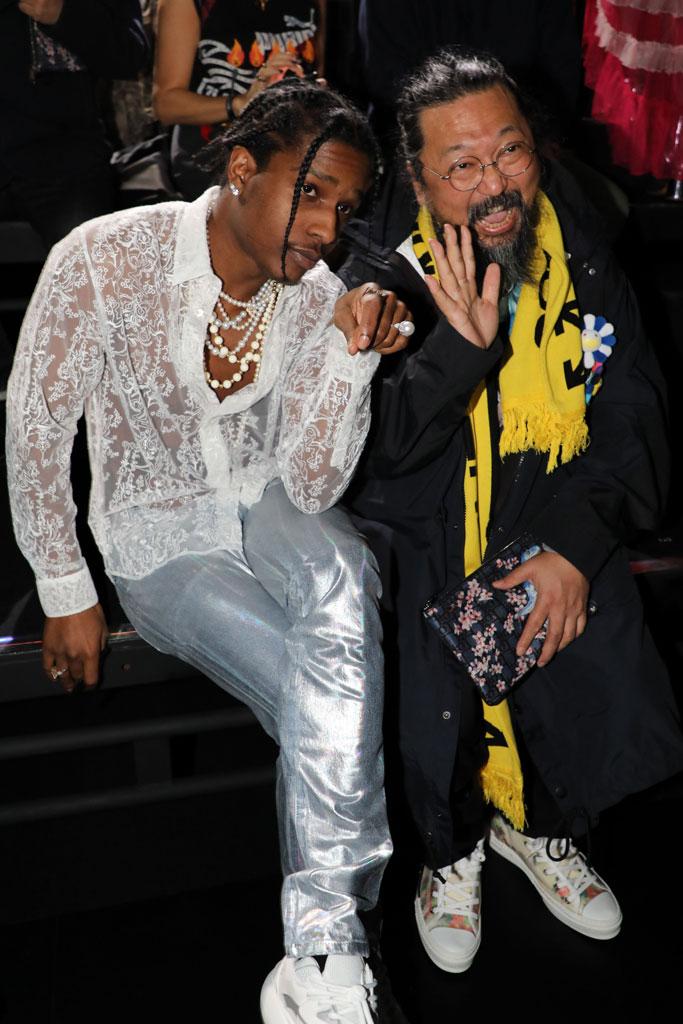 Takashi Murakami, asap rocky, A$AP Rocky, dior homme, pre-fall 2019, runway show, tokyo