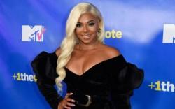 Ashanti at the MTV Midterm Election