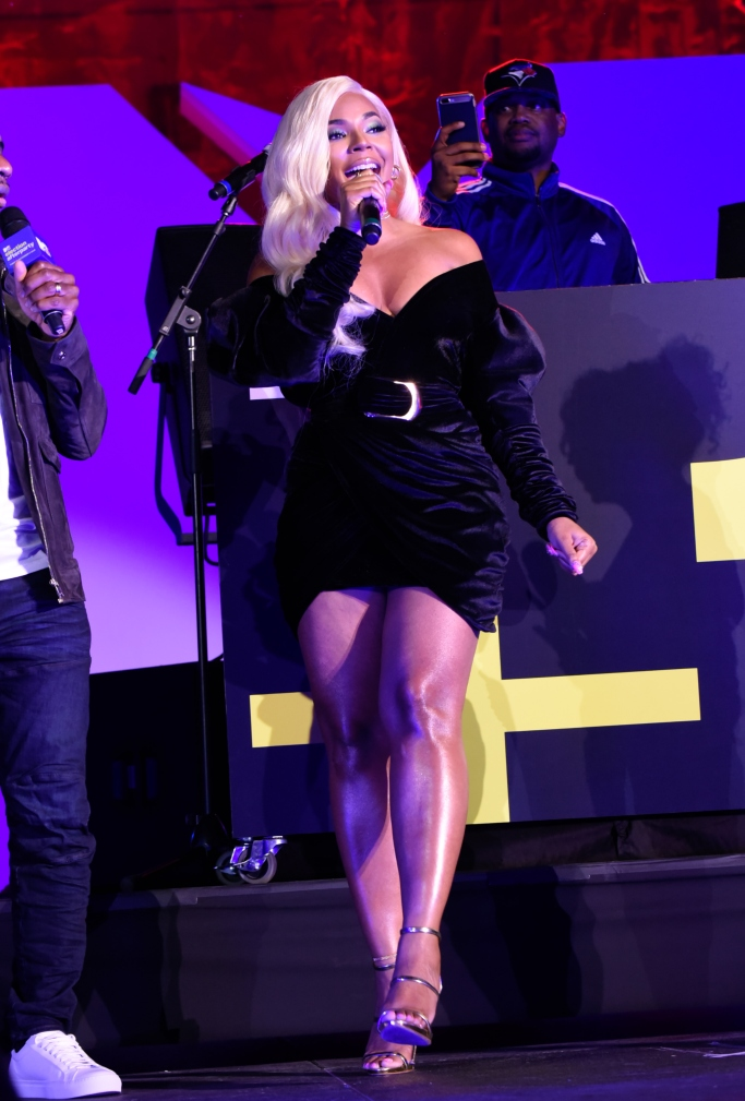 Ashanti performing at the MTV Midterm Election Afterparty, giuseppe zanotti harmony sandals