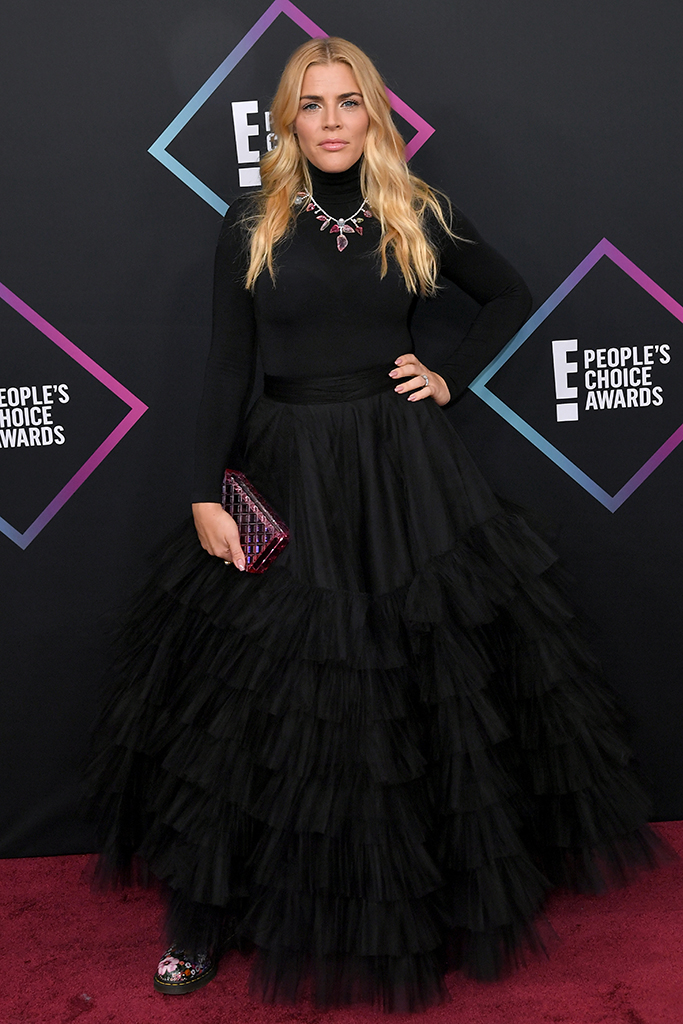 Busy Philipps People's Choice Awards, Arrivals, Los Angeles, USA - 11 Nov 2018