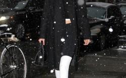 Celebrities in Snow Boots