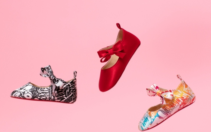 Christian Louboutin reveals an exclusive capsule collection of baby shoes