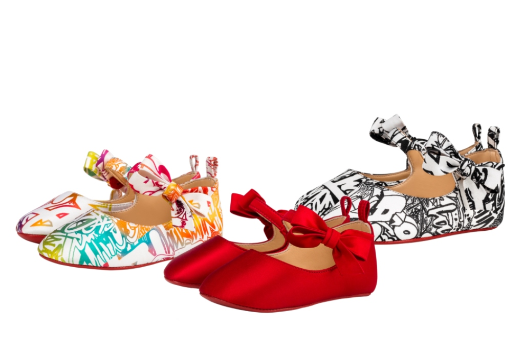 Christian Louboutin's exclusive capsule collection for babies