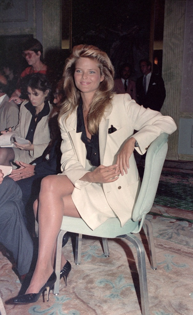 Brinkley Supermodel Christie Brinkley is seen at the Versailles Room at the Helmsley Palace in Manhattan onCHRISTIE BRINKLEY, NEW YORK, USA