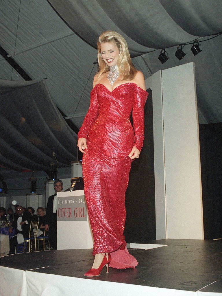 Brinkley Supermodel Christie Brinkley is seen in New YorkCHRISTIE BRINKLEY 1992, NEW YORK, USA