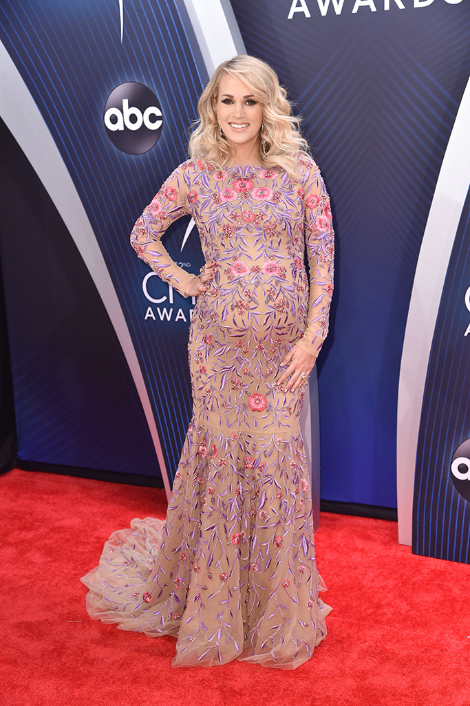 Carrie Underwood52nd Annual CMA Awards, Arrivals, Nashville, USA - 14 Nov 2018