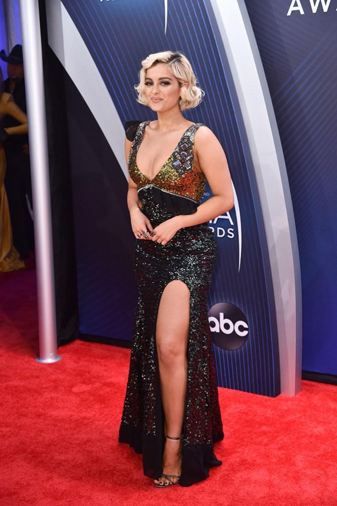 Bebe Rexha52nd Annual CMA Awards, Arrivals, Nashville, USA - 14 Nov 2018