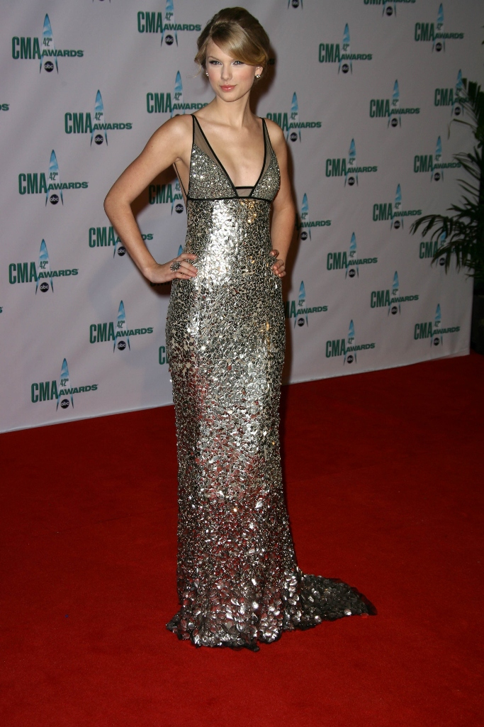 taylor swift, country music association awards 2008