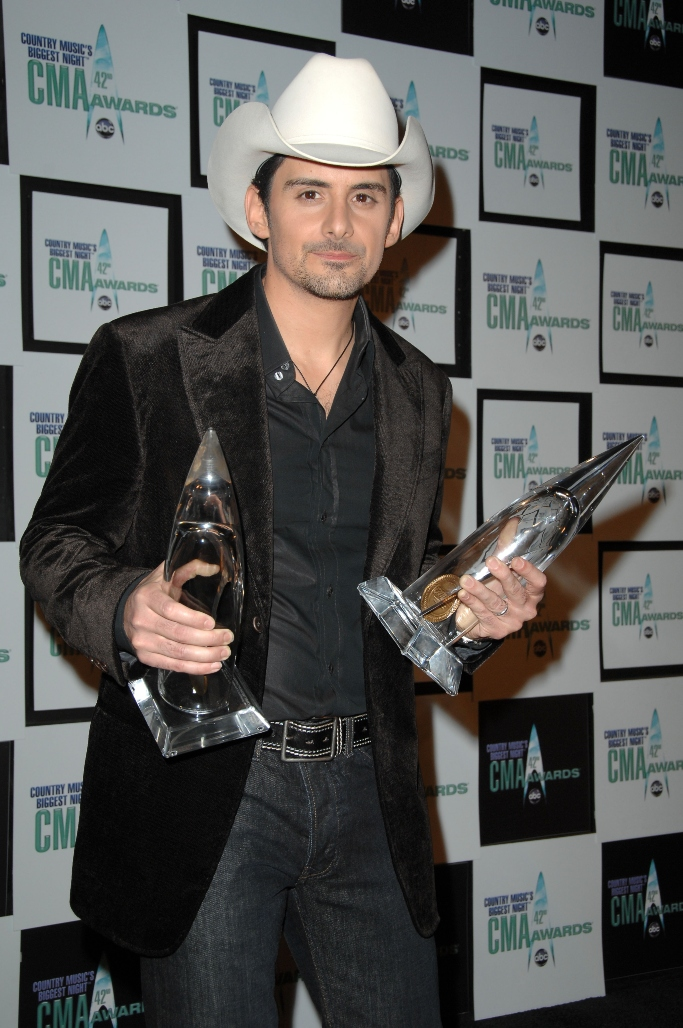 country music association awards, brad paisley