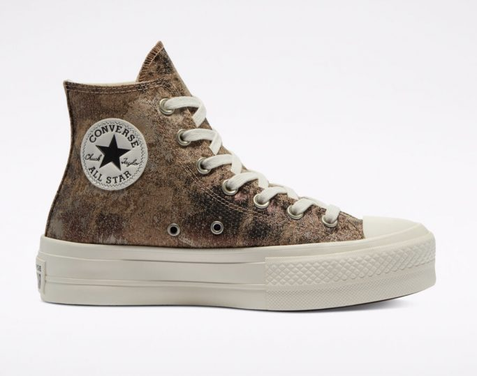 Elevated Metallic Platform Chuck Taylor All Star