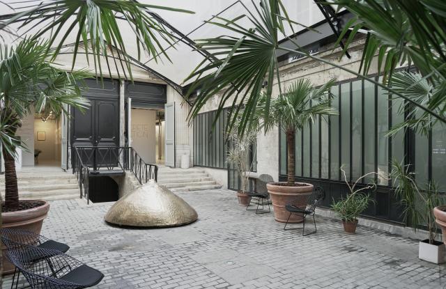 Alaia courtyard