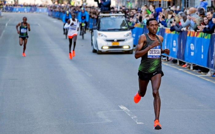 lelisa desisa, nyc marathon, 2018, new york