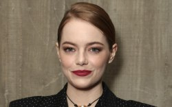 fox searchlight party, emma stone, style,
