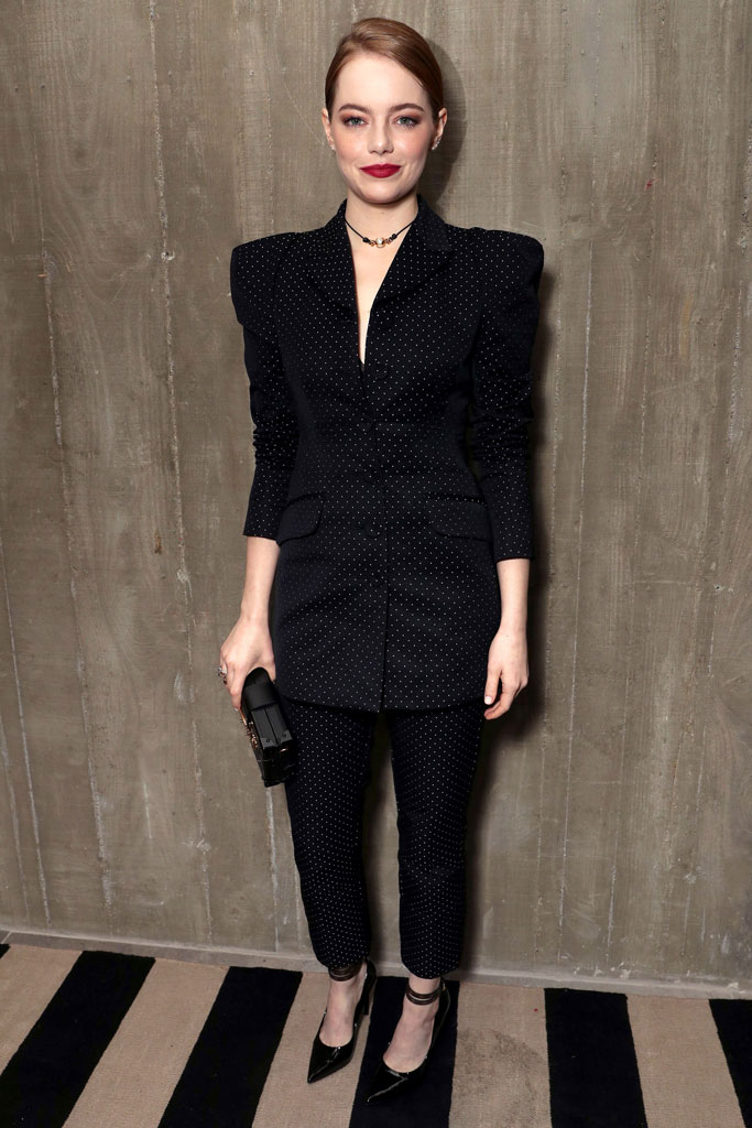 fox searchlight party, emma stone, style, red carpet, celebrity fashion