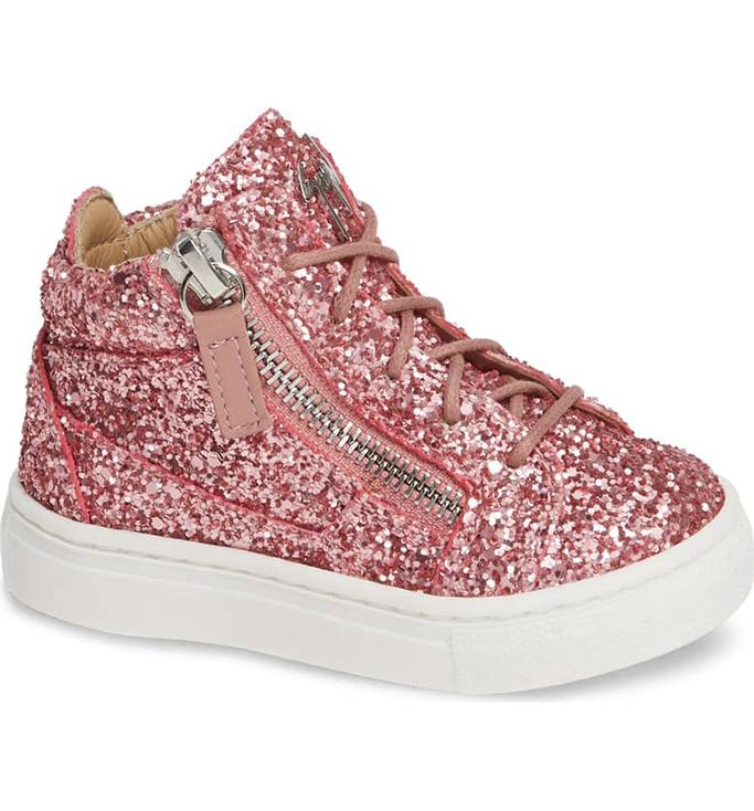 Guisseppe Zanotti Natalie High Top Sneaker