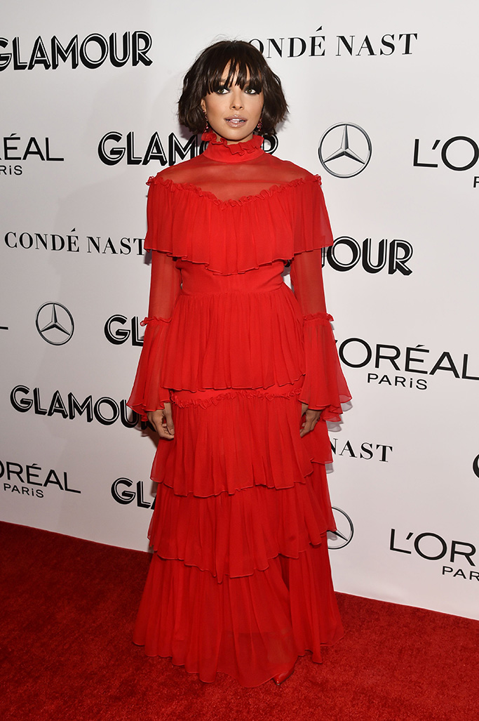 Kat Graham Glamour's 28th annual Women of the Year Awards, Arrivals, New York, USA - 12 Nov 2018