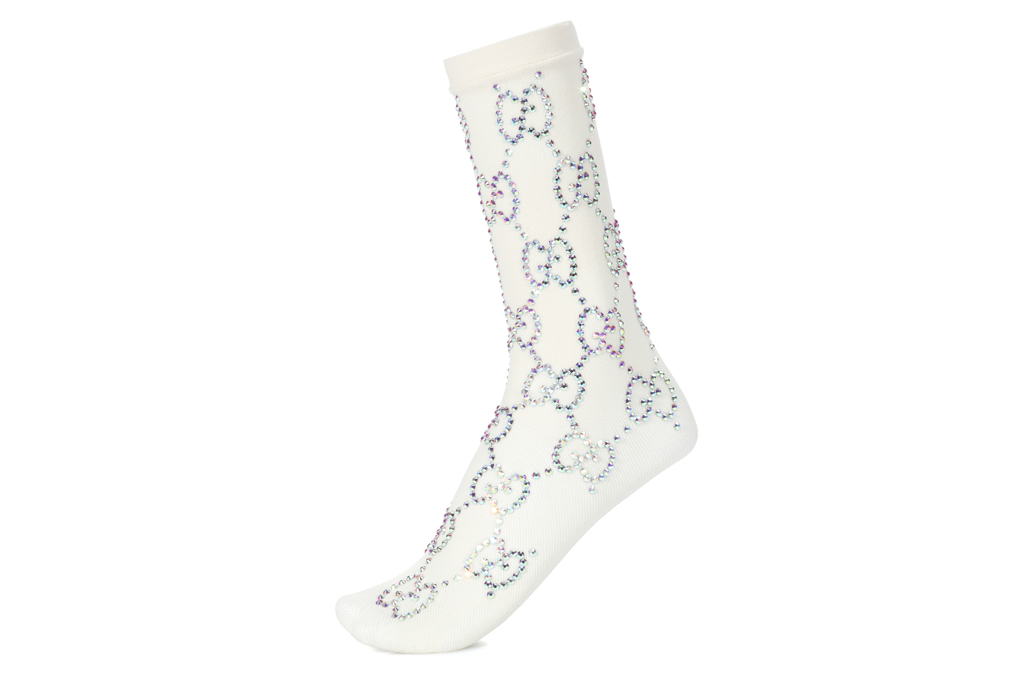 Gucci Sequined Socks