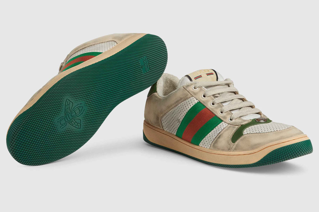 Gucci's 'Dirty' Sneakers Cost $870