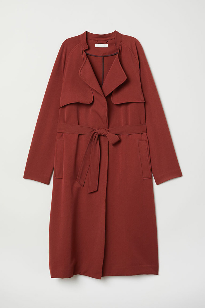 H&M Soft Trench Coat