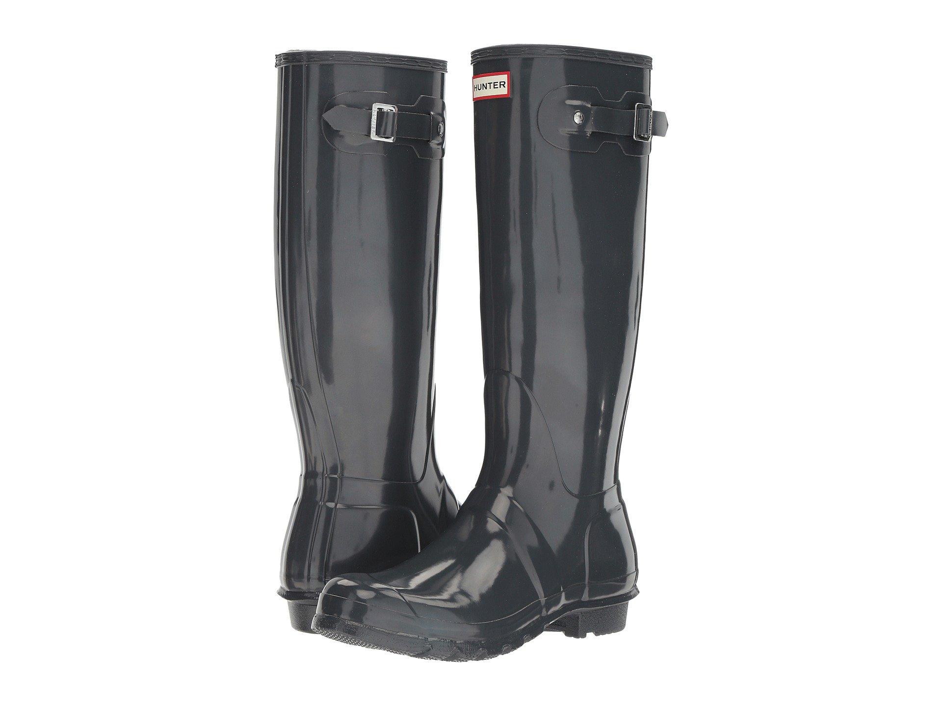 HunterOriginal Tall Gloss Rain Boots
