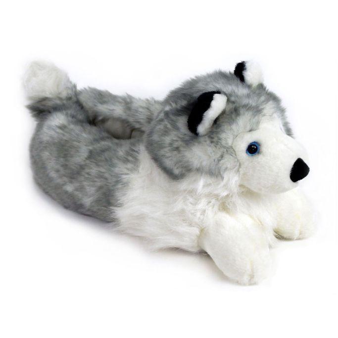 AnimalSlippers.com Husky Slippers