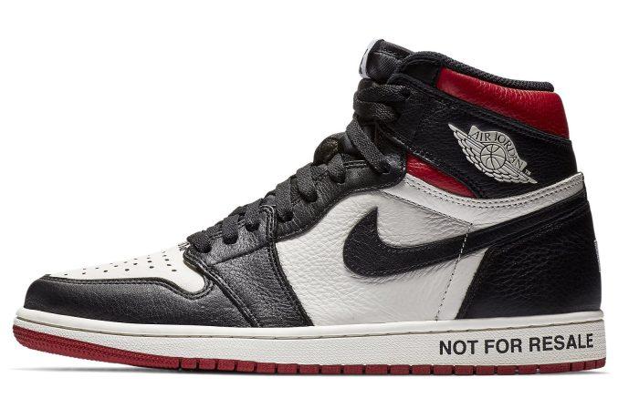 """Air Jordan 1 """"Not For Resale"""" 861428-106"""