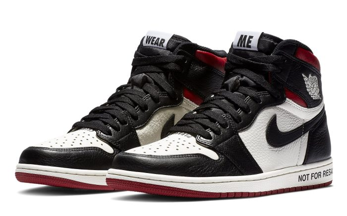 "Air Jordan 1 ""Not For Resale"" 861428-106"