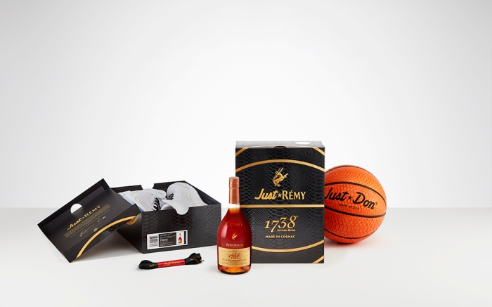 remy martin, don c, just don, 1738 Sneaker Box,