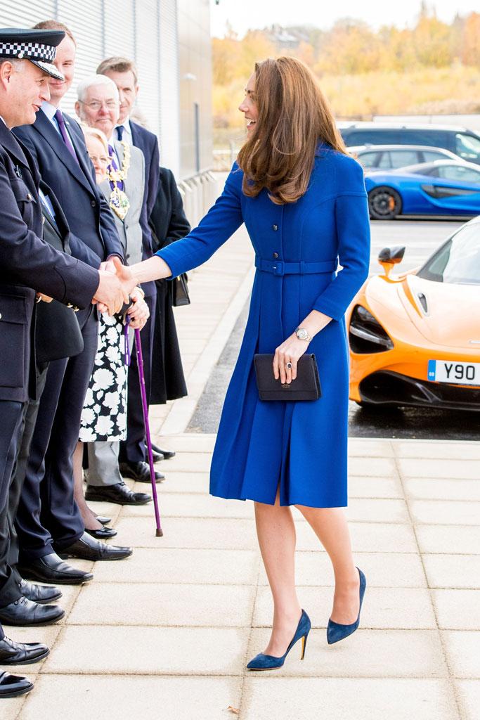 Kate Middleton, Eponine, Rupert Sanderson, high heels, recycled look