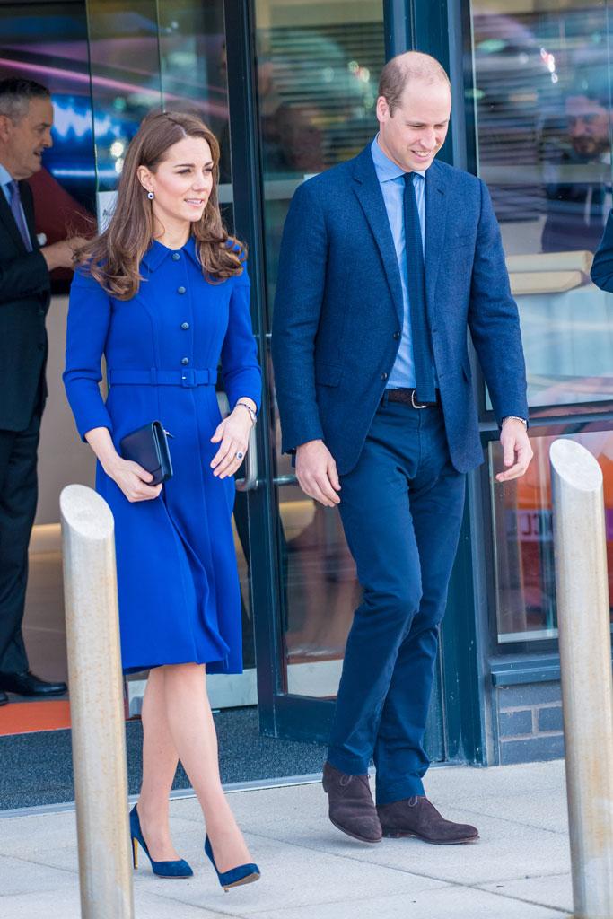 kate middleton, prince william, eponine coat, rupert sanderson heels