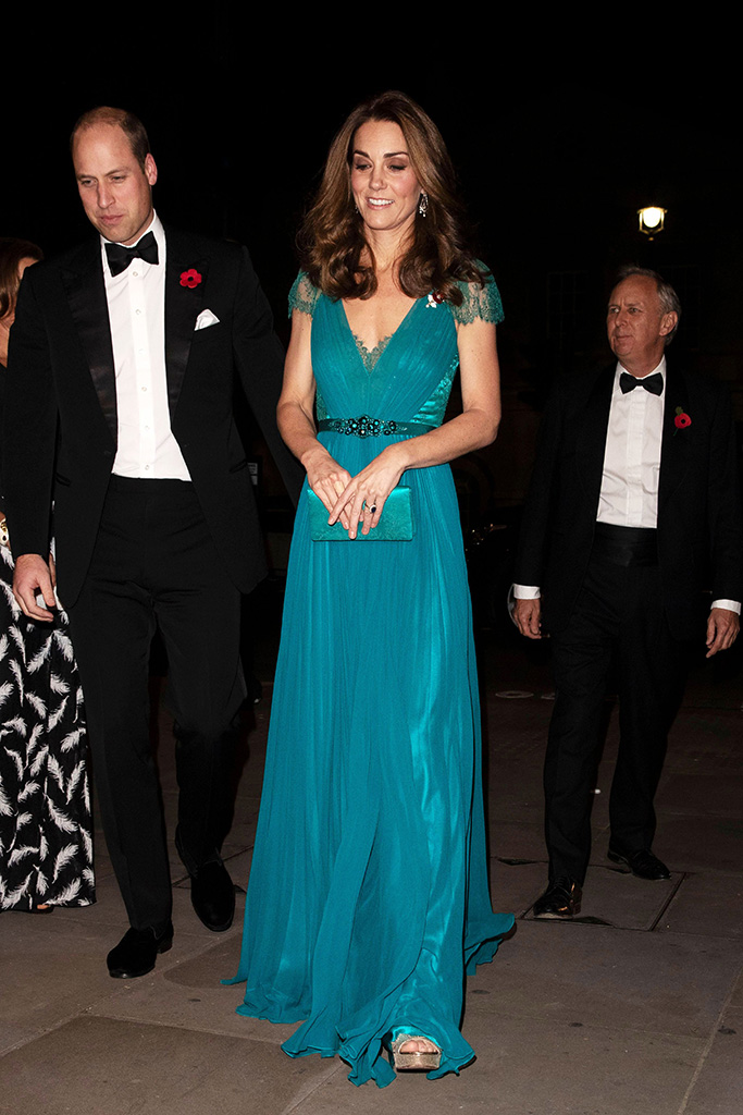 Kate Middleton Jenny Packham Dress