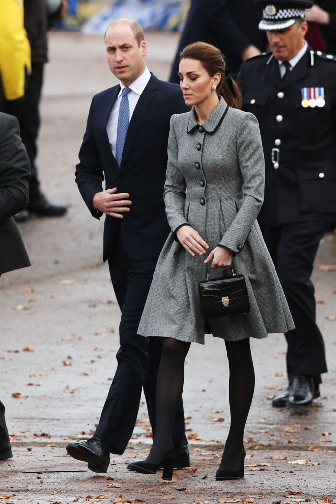 kate middleton, prince william, leicester,