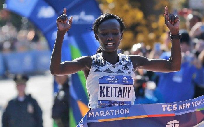 Mary Keitany, NYC Marathon, 2018