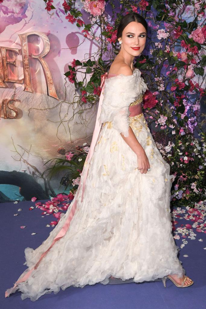 Keira Knightley, the nutcracker, chanel, red carpet,