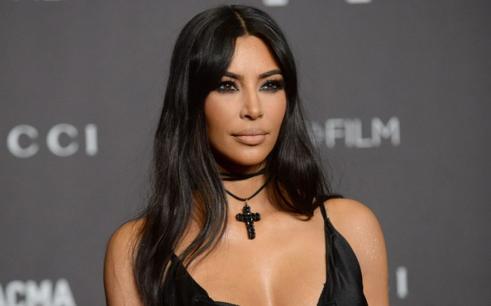 Kim Kardashian, LACMA Art and Film Gala, red carpet