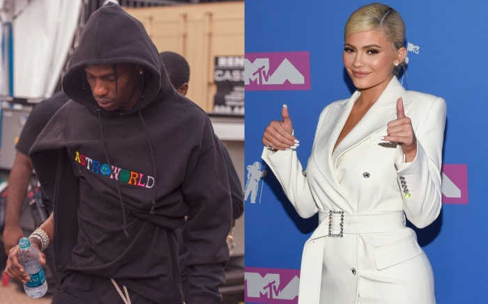 kylie jenner, travis scott, astroworld tour merch
