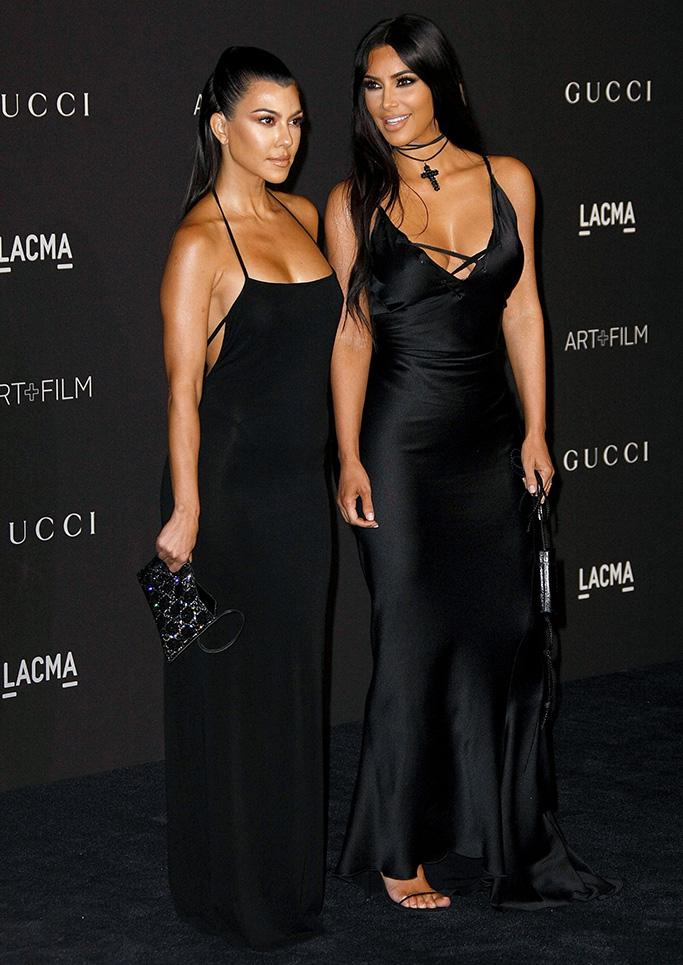 Kourtney Kardashian, Kim KardashianLACMA: Art and Film Gala, Los Angeles, USA - 03 Nov 2018