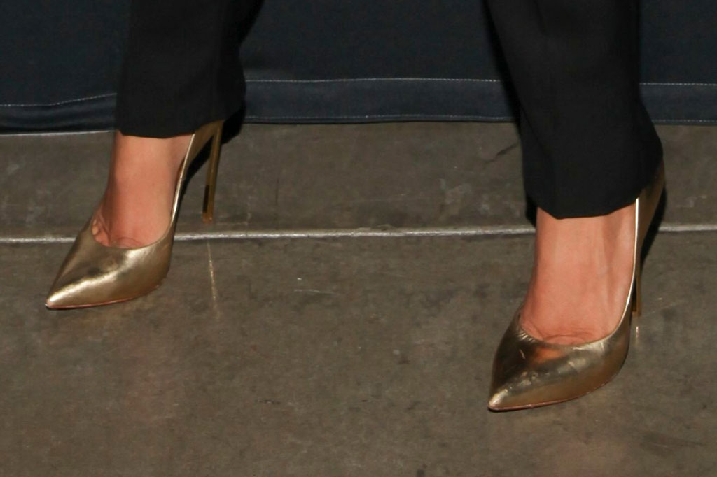 Lady Gaga, Casadei, variety actors on actors, red carpet, high heels