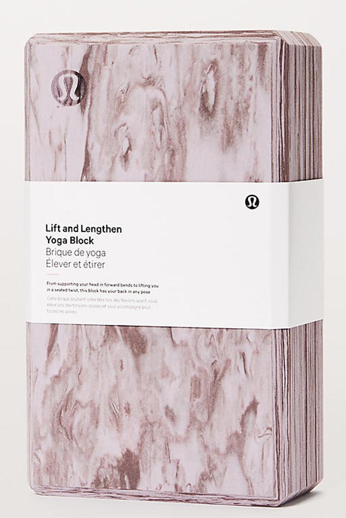 LululemonLift and Lengthen Yoga Block