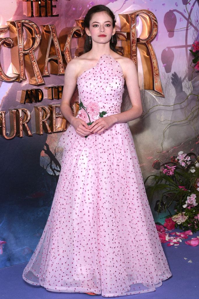 Mackenzie Foy, the nutcracker, rodarte, gown