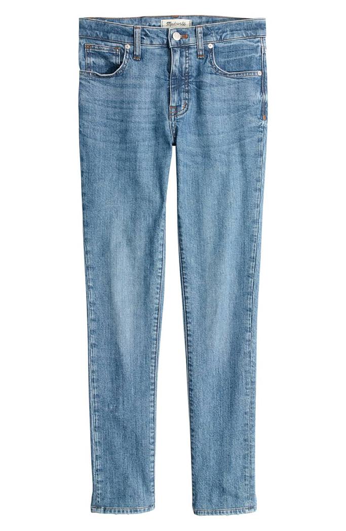 Madewell high waist stretch skinny jeans
