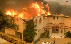 Woolsey Fire Malibu California