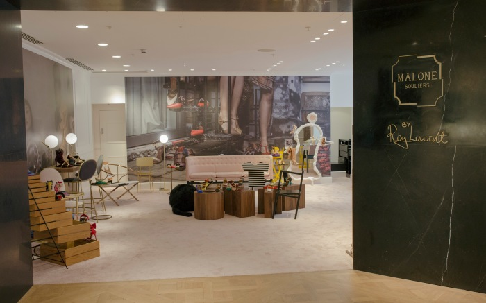 Malone Souliers by Roy Luwolt pops up at Selfridges